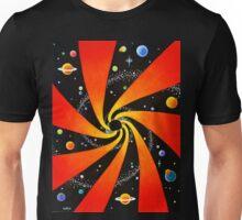HYPNOTIC SPIRAL GALAXY Unisex T-Shirt