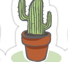 Cacti Trio Sticker