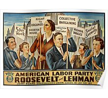 American Labor Party Poster