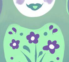 Spring Matryoshka Sticker
