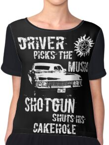 Driver Picks the Music Chiffon Top