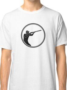 Mens Skeet Shooting Classic T-Shirt