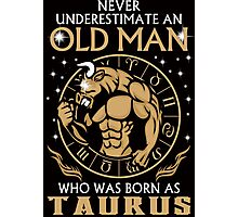 A Taurus Old Man Photographic Print