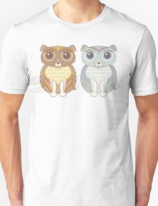 Two Fluffy Dogs Unisex T-Shirt