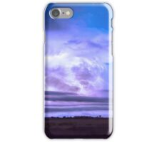On The Edge Of A Storm iPhone Case/Skin