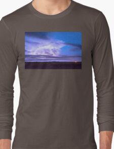 On The Edge Of A Storm Long Sleeve T-Shirt