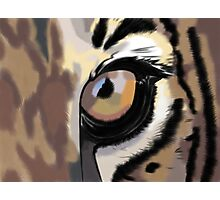 Eye of the Tiger Photographic Print