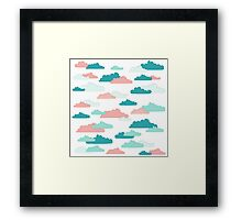 Cloudy Sky Framed Print