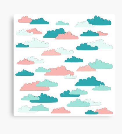 Cloudy Sky Canvas Print
