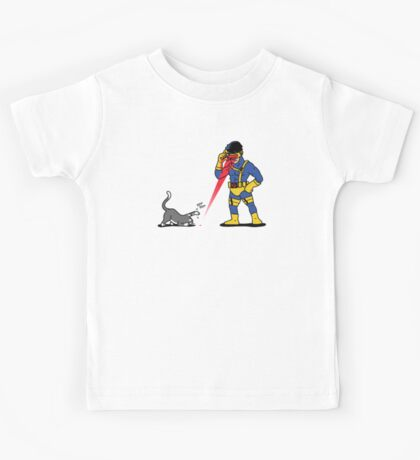 Lasers and cats Kids Tee