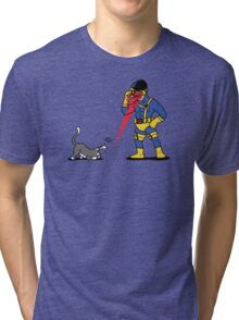 Lasers and cats Tri-blend T-Shirt