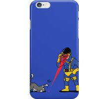 Lasers and cats iPhone Case/Skin