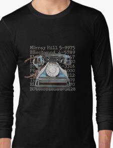 Vintage Telephone Long Sleeve T-Shirt