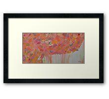 Peach Springs Framed Print