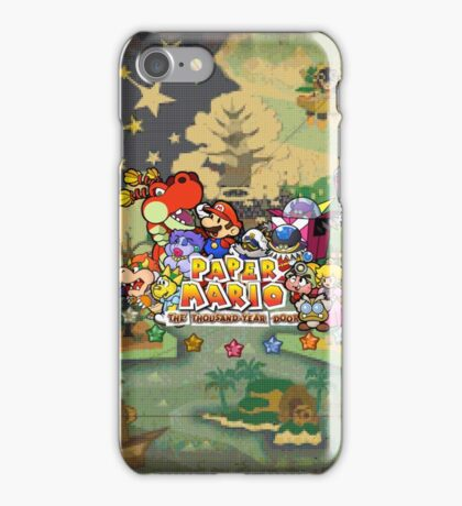 Paper Mario: The Thousand Year Door iPhone Case/Skin