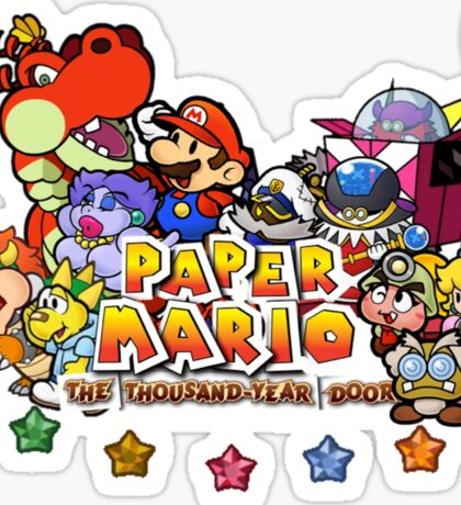 Paper Mario: The Thousand Year Door Sticker