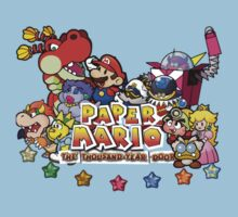 Paper Mario: The Thousand Year Door Kids Tee