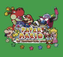 Paper Mario: The Thousand Year Door Kids Tee