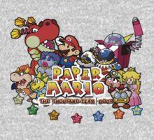 Paper Mario: The Thousand Year Door One Piece - Short Sleeve