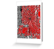 Love & Bullet Holes Greeting Card
