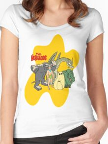 Classic Cartoons The Herculoids-  T-Shirt, Mugs, Bag and more Women's Fitted Scoop T-Shirt