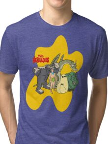 Classic Cartoons The Herculoids-  T-Shirt, Mugs, Bag and more Tri-blend T-Shirt