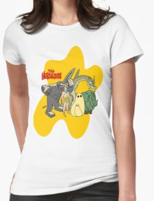 Classic Cartoons The Herculoids-  T-Shirt, Mugs, Bag and more Womens Fitted T-Shirt