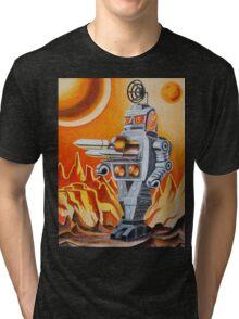 MISSLE ROBOT Tri-blend T-Shirt