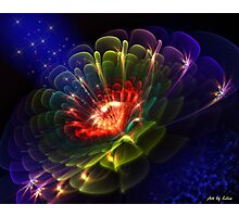 Magical flower Photographic Print
