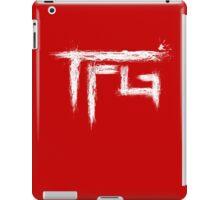 TFG brush white iPad Case/Skin