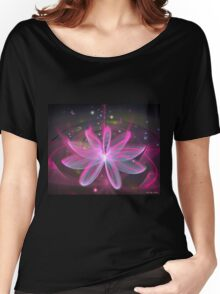 Magical Flower - Pink Lily Women's Relaxed Fit T-Shirt