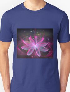 Magical Flower - Pink Lily Unisex T-Shirt