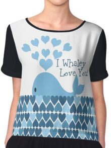I Whaley Love You! Chiffon Top