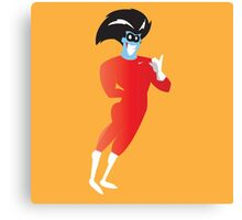 Freakazoid in nike gear Canvas Print