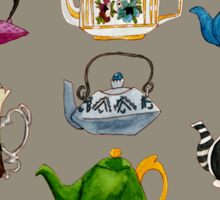 There's Always Time for Tea Watercolor Sticker