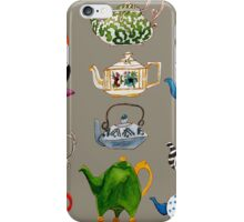 There's Always Time for Tea Watercolor iPhone Case/Skin