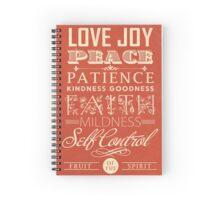 Fruit of the Spirit (Galatians 5:22) Spiral Notebook