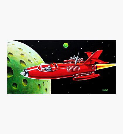 X-300 SPACE ROCKET Photographic Print