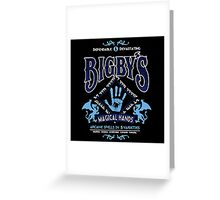Bigby's Magical Hands Greeting Card