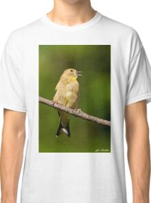 American Goldfinch Singing Classic T-Shirt