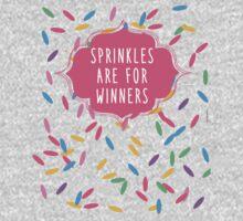 Sprinkles Are for Winners Kids Tee