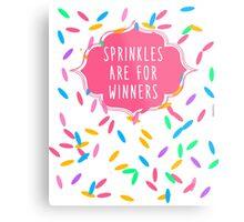 Sprinkles Are for Winners Metal Print