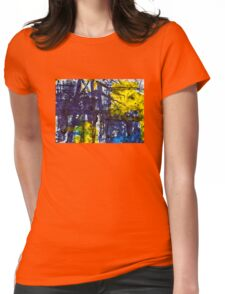 Trees V Womens Fitted T-Shirt