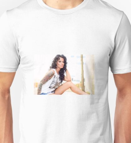 Model Cynthia  Unisex T-Shirt