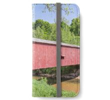 Cades Mill Covered Bridge iPhone Wallet/Case/Skin