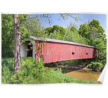 Cades Mill Covered Bridge Poster