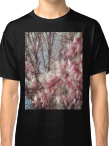 Pink Flower Power Classic T-Shirt
