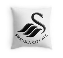 Swansea City FC Throw Pillow