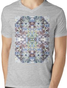 Blue Thistle  Mens V-Neck T-Shirt