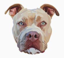 Pitbull Dog Baby Tee